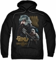 Lord Of The Rings pull-over hoodie Gimli adult black