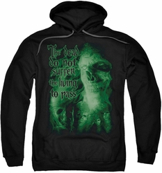 Lord Of The Rings pull-over hoodie King Of The Dead adult black