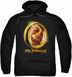 Lord Of The Rings pull-over hoodie My Precious adult black