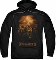 Lord Of The Rings pull-over hoodie Riders Of Rohan adult black