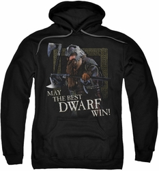 Lord Of The Rings pull-over hoodie The Best Dwarf adult black