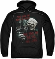 Lord Of The Rings pull-over hoodie Time Of The Orc adult black