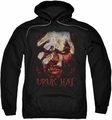 Lord Of The Rings pull-over hoodie Uruk Hai adult black