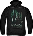 Lord Of The Rings pull-over hoodie Witch King adult black