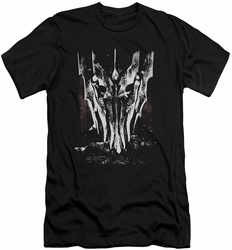 Lord of the Rings slim-fit t-shirt Big Sauron Head mens black
