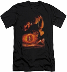 Lord of the Rings slim-fit t-shirt Destroy The Ring mens black