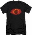 Lord of the Rings slim-fit t-shirt Eye Of Sauron mens black