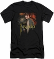 Lord of the Rings slim-fit t-shirt Frodo mens black