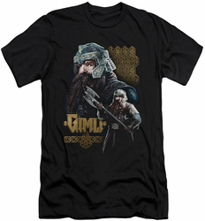 Lord of the Rings slim-fit t-shirt Gimli mens black