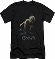 Lord of the Rings slim-fit t-shirt Gollum mens black