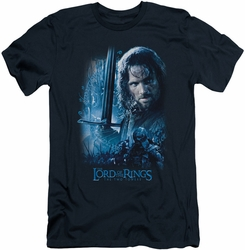 Lord of the Rings slim-fit t-shirt King In The Making mens navy