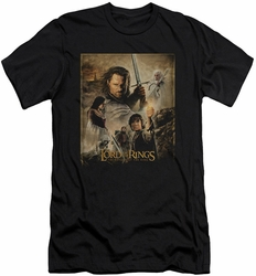 Lord of the Rings slim-fit t-shirt Return of the King Poster mens black
