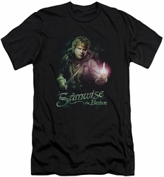 Lord of the Rings slim-fit t-shirt Samwise The Brave mens black