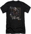 Lord of the Rings slim-fit t-shirt The Best Dwarf mens black
