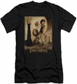 Lord of the Rings slim-fit t-shirt Two Towers Poster mens black