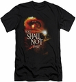 Lord of the Rings slim-fit t-shirt You Shall Not Pass mens black