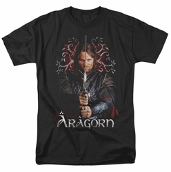 Lord of the Rings t-shirt Aragorn mens black