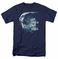 Lord of the Rings t-shirt Cave Troll mens navy