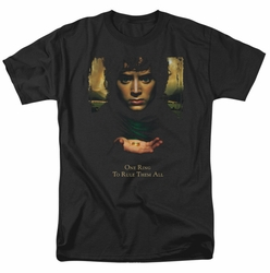 Lord of the Rings t-shirt Frodo One Ring mens black
