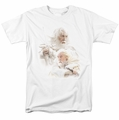 Lord of the Rings t-shirt Gandalf The White mens white