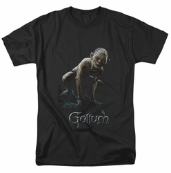 Lord of the Rings t-shirt Gollum mens black