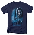 Lord of the Rings t-shirt King In The Making mens navy