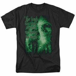 Lord of the Rings t-shirt King Of The Dead mens black