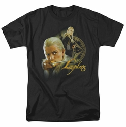 Lord of the Rings t-shirt Legolas mens black