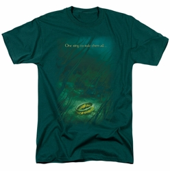 Lord of the Rings t-shirt Lost Ring mens hunter green