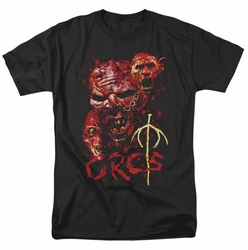 Lord of the Rings t-shirt Orcs mens black