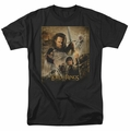 Lord of the Rings t-shirt Return of the King Poster mens black