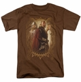 Lord of the Rings t-shirt Rohan Royalty mens coffee