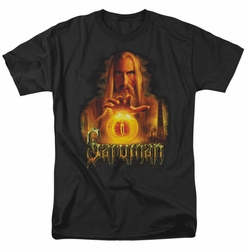 Lord of the Rings t-shirt Saruman mens black