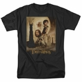 Lord of the Rings t-shirt Two Towers Poster mens black