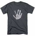 Lord of the Rings t-shirt White Hand mens charcoal