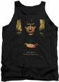 Lord of the Rings tank top Frodo One Ring mens black