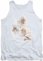 Lord of the Rings tank top Gandalf The White mens white