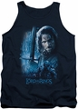 Lord of the Rings tank top King In The Making mens navy
