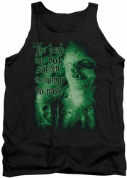 Lord of the Rings tank top King Of The Dead mens black