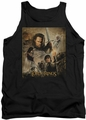 Lord of the Rings tank top Return of the King Poster mens black