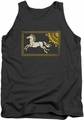 Lord of the Rings tank top Rohan Banner mens charcoal