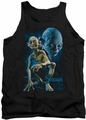 Lord of the Rings tank top Smeagol mens black