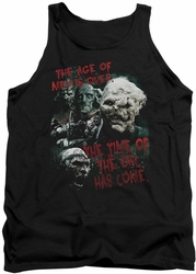 Lord of the Rings tank top Time Of The Orc mens black