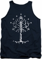 Lord of the Rings tank top Tree Of Gondor mens navy