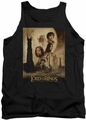 Lord of the Rings tank top Two Towers Poster mens black