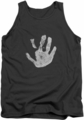 Lord of the Rings tank top White Hand mens charcoal