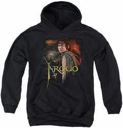 Lord of the Rings youth teen hoodie Frodo black