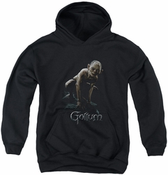 Lord of the Rings youth teen hoodie Gollum black