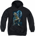 Lord of the Rings youth teen hoodie Smeagol black