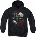 Lord of the Rings youth teen hoodie Time Of The Orc black